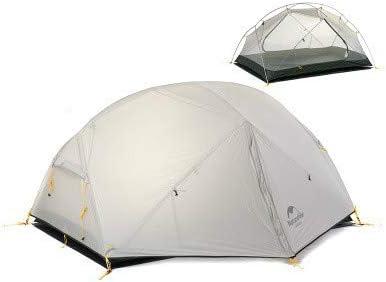 Mdsfe Naturehike Mongar 2 Carpa, Carpa de Camping para 2 ...