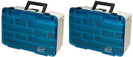 Plano Two Level Magnum 3500 Tackle Box, Premium Tackle Storage (2-(Pack))