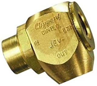 """product image for Clippard JEV-F2F2 J-Series Quick Exhaust Valve, 90 Degree Orientation, 1/8"""" NPT Female Thread"""