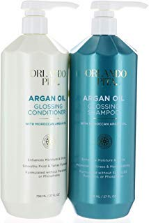 Aragan Gloss Hair Shampoo and Conditioner Set (798ml/27floz