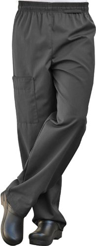 Uncommon Threads Cargo Chef Pant in Black - XXX-Large