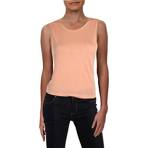 Beyond Yoga  Vintage Pima Modal Jersey Aquarius Twisted Tank, Pink Shell, Large ()