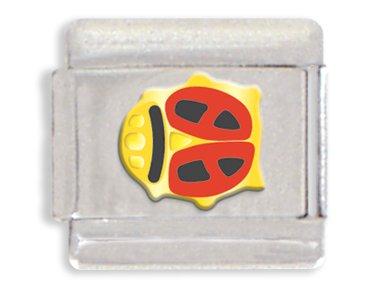 Ladybug Italian Charm Bracelet Link
