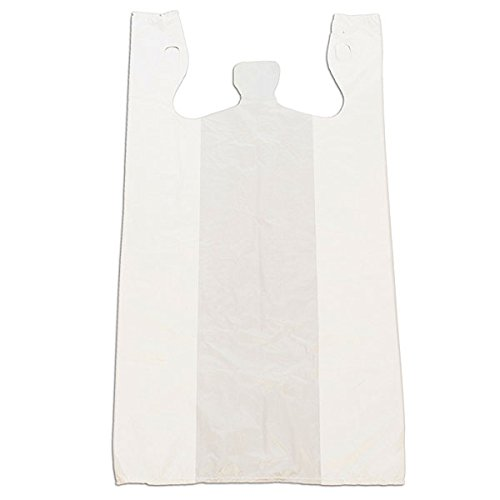 - KC Store Fixtures 06135 Plastic T-Shirt Bag, High Density, 12
