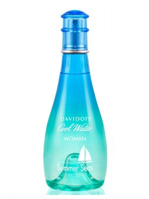 Cool Water Summer Seas FOR WOMEN by Davidoff - 3.4 oz EDT Spray