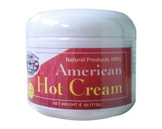 Américaine American Natural Crème chaude 4 oz excessive de graisse corporelle Réducteur Burner