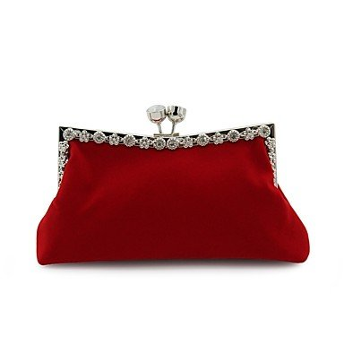 For KLXEB Party Blue Evening Red Women;S Royal All Event Pocket Seasons Black Wedding Red Bag 6aaIyBF