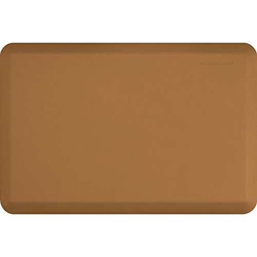 WellnessMats Original Anti-Fatigue 36 Inch by 24 Inch Kitchen Mat, Tan by WellnessMats