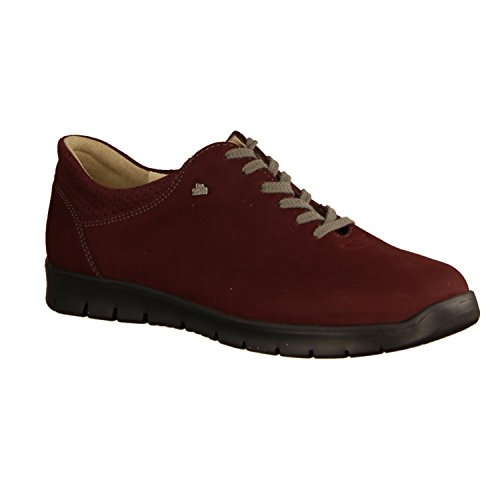 Rojo Mujer Cordones Finn para Comfort Rojo Zapatos de Tqp0X