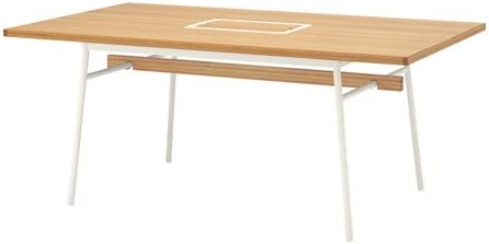 Ikea 6214.14202.1616 - Mesa de bambú, Color Blanco: Amazon.es ...