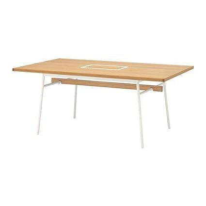 IKEA Table, Bamboo, White 6214.14202.1616