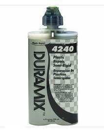 (3M(TM) Semi-Rigid Plastic Repair, 04240, 200 mL, 6 cartridges per)