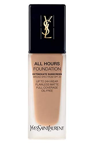 (YVES SAINT LAURENT All Hours Full Coverage Matte Foundation SPF 20 25ml # B60 Amber)