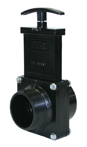 Valterra 7208 ABS Gate Valve, Black, 2