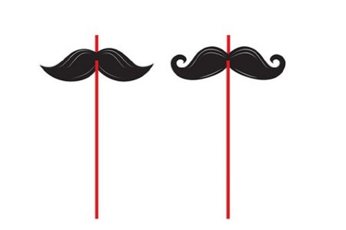 6-Count Straws, Mustache Madness for $<!--$4.06-->