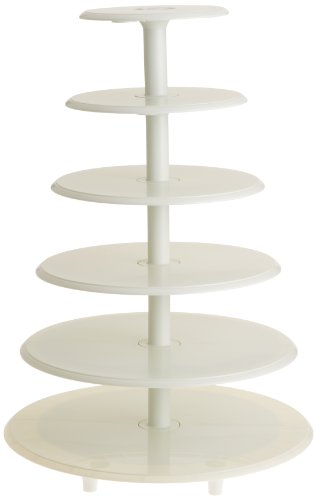 Wilton 307-892 Towering Tiers Cake & Cupcake Stand (Sale Cake For White Stands)