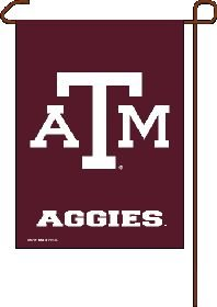 Wincraft, NCAA Texas A and M Aggies 12x18 Garden Flag, 2- Sided, Team Color - Texas A&m Yard