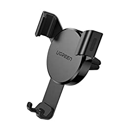 UGREEN Car Air Vent Mount Cell Phone Holder Gravity Compatible for iPhone 12 11 Pro Max SE XR XS X 6S 7 Plus 8 6 Samsung…