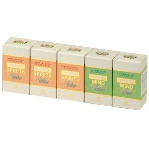 ヌーススピリッツヌースマインド組み合わせ5箱セット【ヌーススピリッツ(3箱)ヌースマインド(2箱)】 B004REEM2W