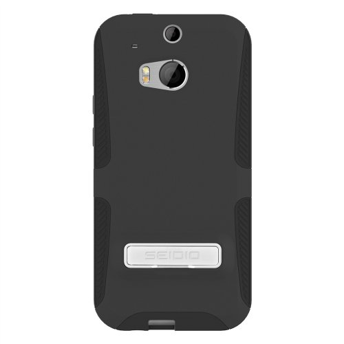 SEIDIO DILEX Case with Metal Kickstand for HTC One (M8) -...
