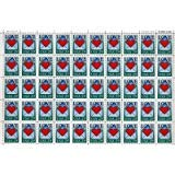 (Love Heart Envelope Full Sheet of 50 x 29 cent US Postage Stamps Scot #2618)