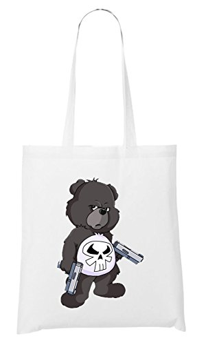 Punisher Bear Bag White Certified Freak