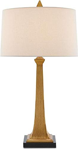 Currey & Company Table Lamp Manhattan Square Base Tapered Column 1-L ()