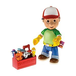 Disney Let's Get To Work Handy Manny Action Figure and Tool Kit