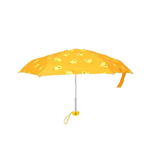 Kentwood Shield - LINE FRIENDS Sally Compact Folding Umbrella One Size Yellow