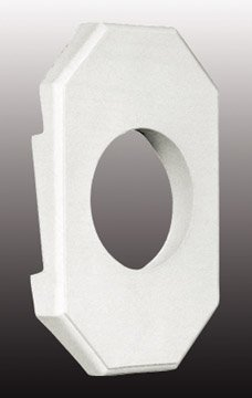 special-lite-products-lb-8051-dbl-light-block-double-fits-5-8-inch-lap-4-inch-siding-white