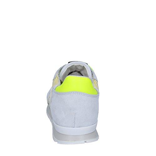 Mujer Bianco Giallo Para L4k3 Zapatillas SPxnzC
