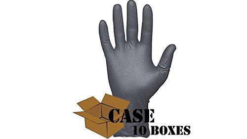 Best - N-DEX - NightHawk Defender Disposable Nitrile Gloves - Case - size: Large