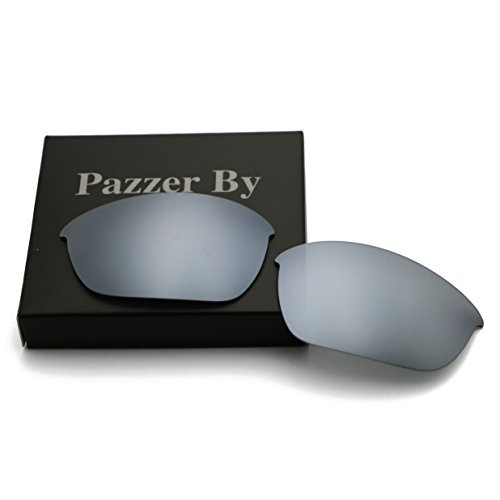 Polarized Replacement Lenses for Oakley Half Jacket 2.0 - Silver Mirrored - Replacement Lenses Oakley Half Jacket