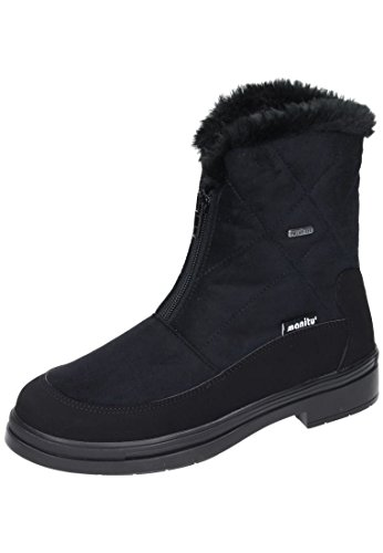Schwarz Stiefel 990840 Damen Polartex Manitu schwarz Schneeboots 1 OBzqvWf