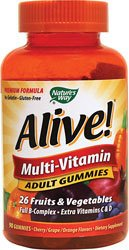 Nature de façon vivante Adult Multi-Vitamin Gummies, 90 Count