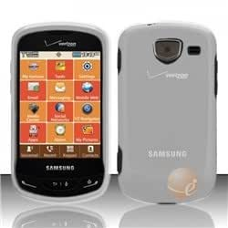 Transparent Cover compatible with Samsung Brightside U380, Clear
