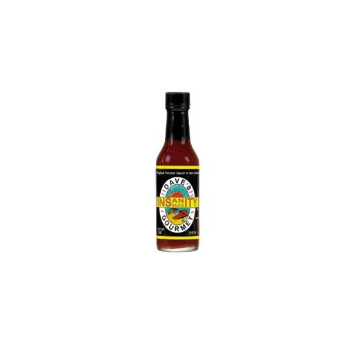 Dave's Gourmet Insanity Sauce Economy Case Pack 5 Oz Bottle (Pack of 12) by Dave's Gourmet
