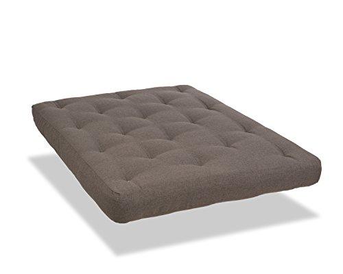 Serta Chestnut Double Sided Foam and Cotton Futon Mattress,