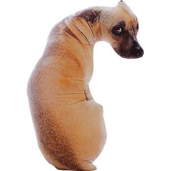 Amazon.com: CUTESUN - Almohada de peluche con forma de perro ...