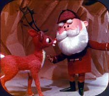 RUDOLPH Rankin-Bass Special ViewMaster Viewer & 3 Reel Set by 3Dstereo ViewMaster (Image #3)