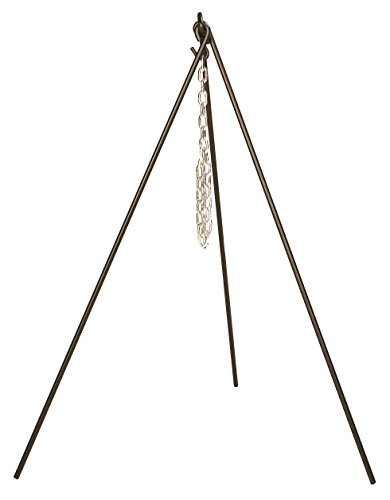 Lodge 3TP2 Camp Dutch Oven Tripod, 43.5-Inch