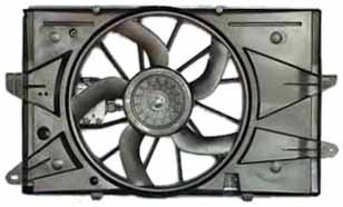 TYC 621890 Ford/Mercury Replacement Radiator/Condenser Cooling Fan ()
