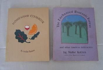Forest Signed - The New Moosewood Cookbook & The New Enchanted Broccoli Forest - SIGNED 2 vol set
