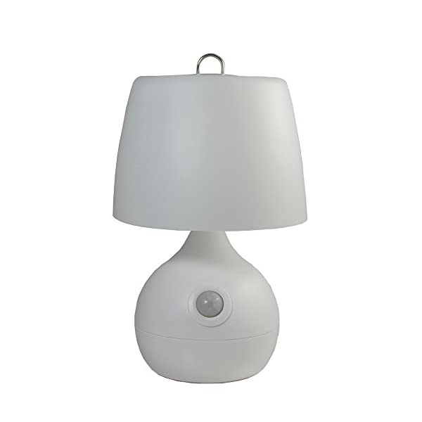 The Original Mighty Bright Motion-Sensor Light for Baby Nursery and Nighttime Safety, Battery Life of 90 Hours, Senses Motion up to 15 Feet Away (White)