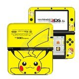 Pokemon Pikachu Yellow #2 Limited Edition VINYL SKIN STICKER DECAL COVER for Nintendo 3DS XL / LL Console System by Ci-Yu-Online (Nintendo 3ds Skin)