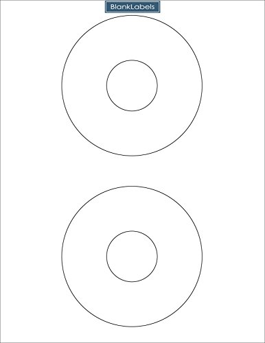 200 CD / DVD labels compatible with the Word 5824 template. Laser and Ink Jet Compatible Bright White Matte Finish. 100 Sheets Blank Labels Brand.