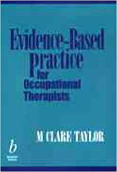 Book Evidence-based Practice for Occupational Therapists