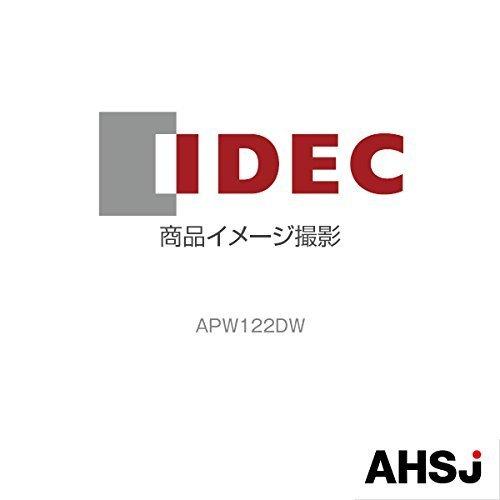 IDEC (アイデック/和泉電機) APW122DW パイロットライト (φ22) (TWシリーズ) (平形) (LED照光) (AC/DC24V)