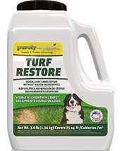 3lb. Purely Organic Products LLC Turf Restore - Grass Seed and Lawn Food Mix