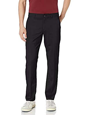 PGA TOUR Men's Flat Front Active Waistband Pant